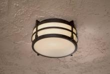 Minka-Lavery 72029-179-pl - One Light Bronze Outdoor Flush Mount