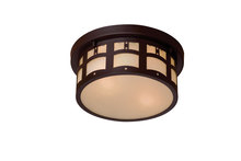 Minka-Lavery 8729-a615b - 2 Light Flush Mount