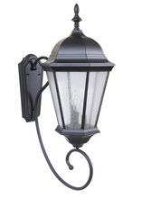 Craftmade Z2970-11 - 3 Light Midnight Outdoor Large Wall Mount