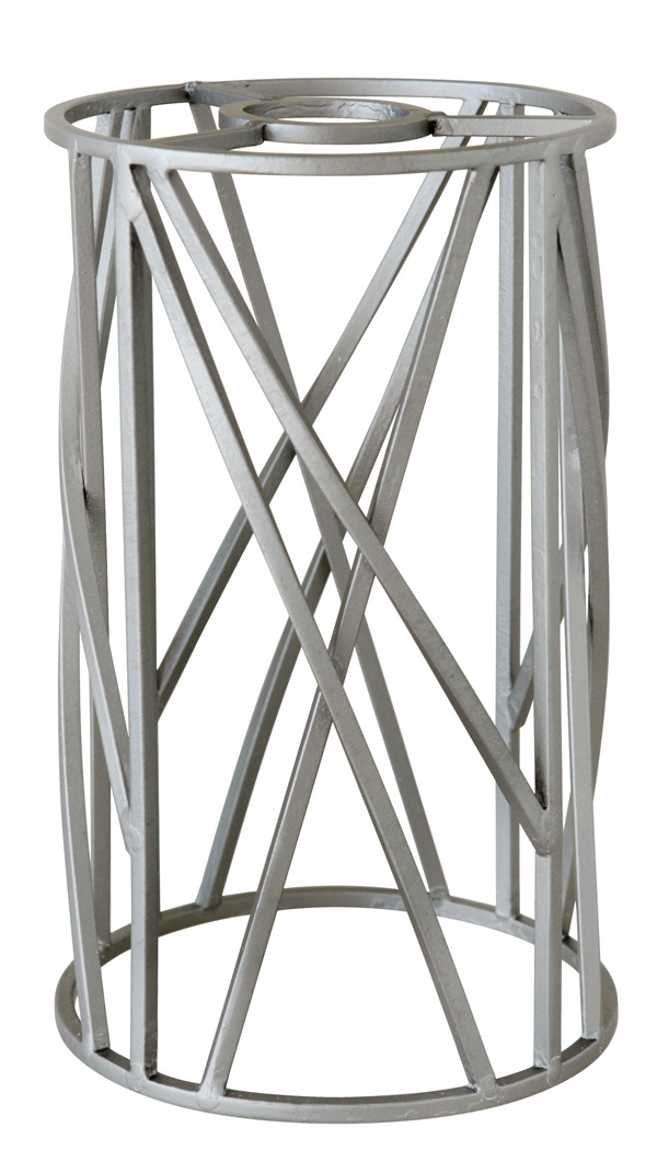 Design-A-Fixture Mini Pendant Cage in Aged Galvanized