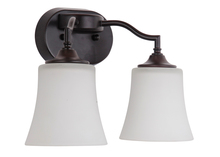 Jeremiah 41702-OB - Helena 2 Light Vanity in Oiled Bronze