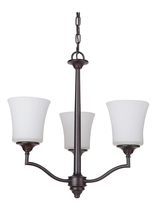 Jeremiah 41723-OB - Helena 3 Light Chandelier in Oiled Bronze