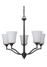 Jeremiah 41725-OB - Helena 5 Light Chandelier in Oiled Bronze