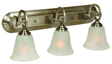 Jeremiah 7123BN3 - Cecilia 3 Light Vanity in Brushed Satin Nickel