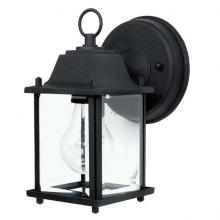 Capital 9850BK - 1 Light Cast Outdoor Lantern