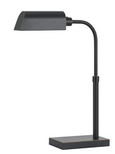 "CAL Lighting BO-2618DK - 23"" Metal Desk Lamp In Dark Bronze"