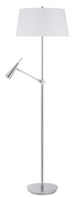 "CAL Lighting BO-2692FL - 63"" Height Metal Floor Lamp In Chrome"