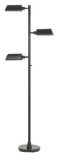 "CAL Lighting BO-2695FL - 72"" Height Metal Floor Lamp In Dark Bronze"