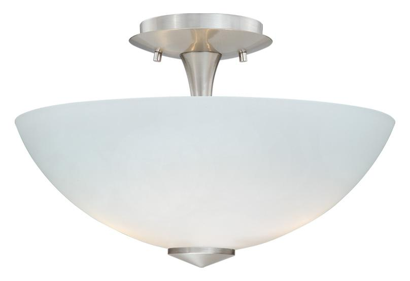 "Milano 13"" Ceiling Light w/Frosted Opal"