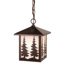 "Vaxcel International OD33486BBZ - Yosemite 8"" Outdoor Pendant"