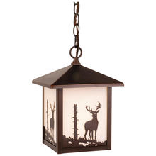 "Vaxcel International OD33586BBZ - Bryce 8"" Outdoor Pendant"