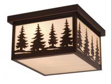 "Vaxcel International OF33412BBZ - Yosemite 12"" Outdoor Ceiling Light"