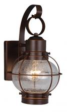 "Vaxcel International OW21861BBZ - Chatham 7"" Outdoor Wall Light"
