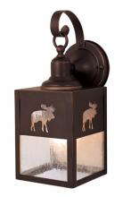 "Vaxcel International OW24963BBZ - Yellowstone 5"" Outdoor Wall Light"