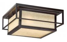 "Vaxcel International RB-OFU120EB - Hyde Park 12"" Outdoor Flush Mount"