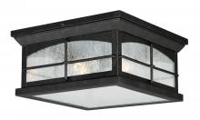 "Vaxcel International T0075 - Bembridge 11"" Outdoor Flush Mount"