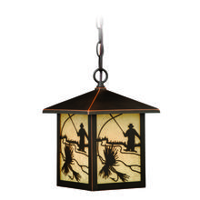 "Vaxcel International T0112 - Mayfly 8"" Outdoor Pendant"