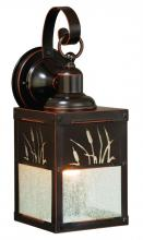 "Vaxcel International T0324 - Bulrush 5"" Outdoor Wall Light"