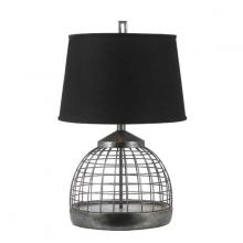 AF Lighting 8318TL - One Light Chrome Table Lamp
