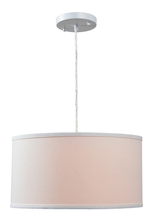 Kenroy Home 93620WH - Paige 1 Light Pendant