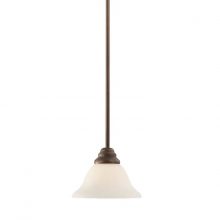 Millennium 1361-RBZ - Mini-Pendant are hanging fixtures that subtly beautify the space they illuminate.