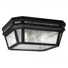 Feiss OL11313BK - 2 - Light Outdoor Flush